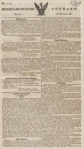 Middelburgsche Courant 1834-09-23