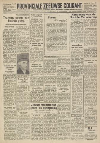 Provinciale Zeeuwse Courant 1948-03-27