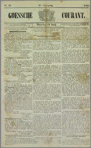 Goessche Courant 1861-06-24