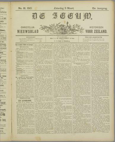De Zeeuw. Christelijk-historisch nieuwsblad voor Zeeland 1901-03-09