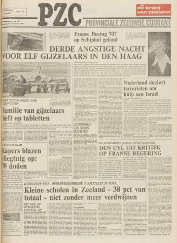 Provinciale Zeeuwse Courant 1974-09-16