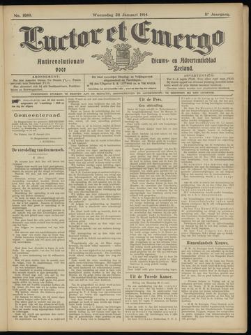 Luctor et Emergo. Antirevolutionair nieuws- en advertentieblad voor Zeeland / Zeeuwsch-Vlaanderen. Orgaan ter verspreiding van de christelijke beginselen in Zeeuwsch-Vlaanderen 1914-01-28