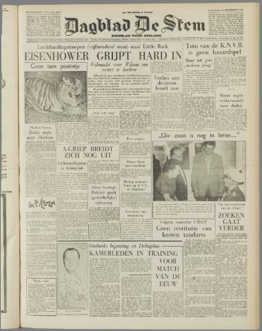 de Stem 1957-09-25