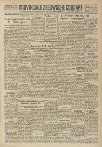 Provinciale Zeeuwse Courant 1946-10-01