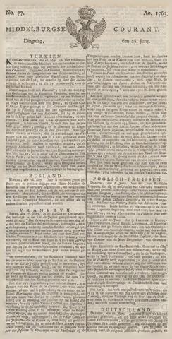 Middelburgsche Courant 1763-06-28