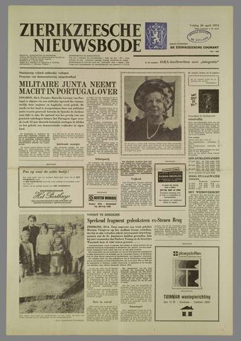 Zierikzeesche Nieuwsbode 1974-04-26
