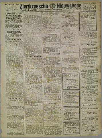 Zierikzeesche Nieuwsbode 1921-01-01