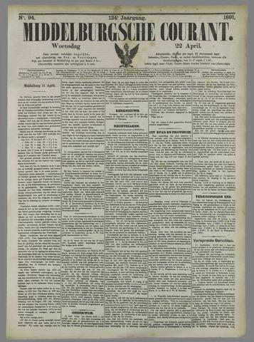 Middelburgsche Courant 1891-04-22