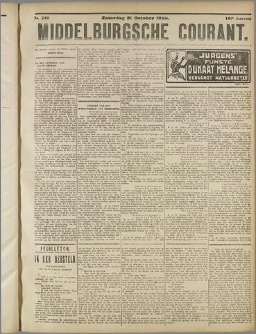 Middelburgsche Courant 1922-10-21
