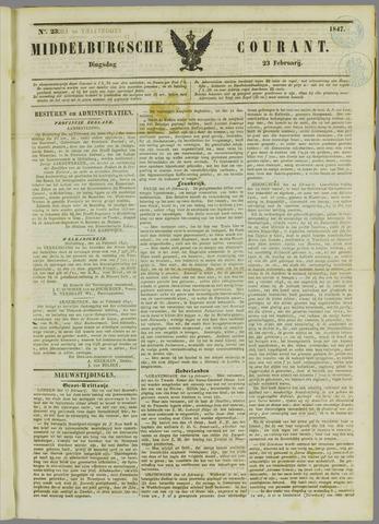 Middelburgsche Courant 1847-02-23