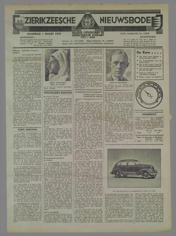 Zierikzeesche Nieuwsbode 1937-03-01