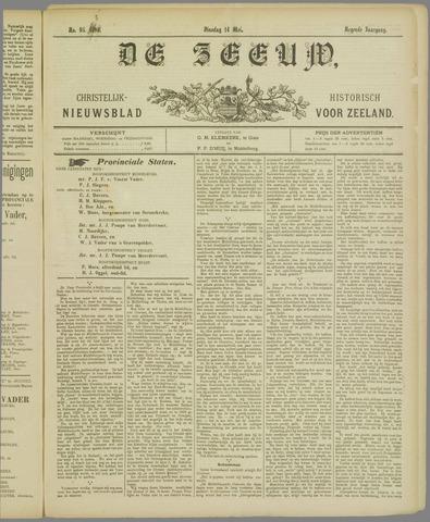 De Zeeuw. Christelijk-historisch nieuwsblad voor Zeeland 1895-05-14