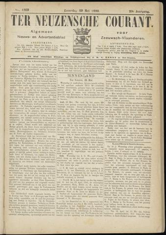 Ter Neuzensche Courant. Algemeen Nieuws- en Advertentieblad voor Zeeuwsch-Vlaanderen / Neuzensche Courant ... (idem) / (Algemeen) nieuws en advertentieblad voor Zeeuwsch-Vlaanderen 1880-05-29