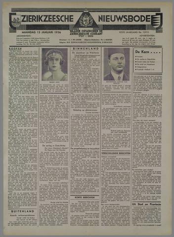 Zierikzeesche Nieuwsbode 1936-01-13