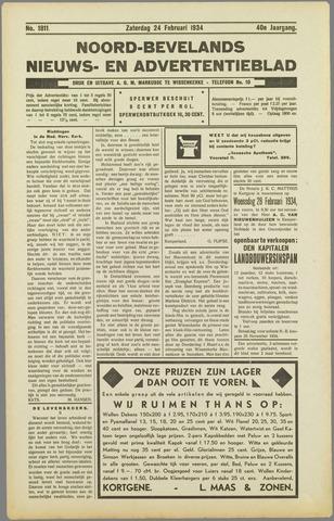 Noord-Bevelands Nieuws- en advertentieblad 1934-02-24