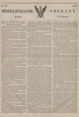 Middelburgsche Courant 1869-02-14