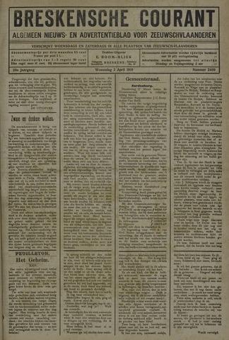 Breskensche Courant 1919-04-02