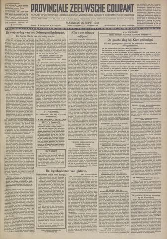Provinciale Zeeuwse Courant 1941-09-29