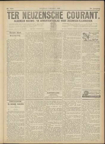 Ter Neuzensche Courant. Algemeen Nieuws- en Advertentieblad voor Zeeuwsch-Vlaanderen / Neuzensche Courant ... (idem) / (Algemeen) nieuws en advertentieblad voor Zeeuwsch-Vlaanderen 1930-03-07