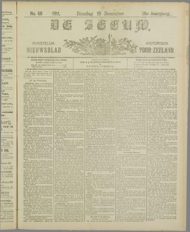 De Zeeuw. Christelijk-historisch nieuwsblad voor Zeeland 1911-12-19