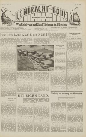 Eendrachtbode (1945-heden)/Mededeelingenblad voor het eiland Tholen (1944/45) 1949-07-22