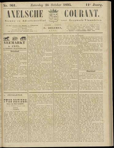 Axelsche Courant 1895-10-26