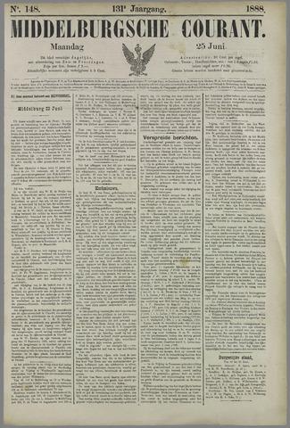 Middelburgsche Courant 1888-06-25
