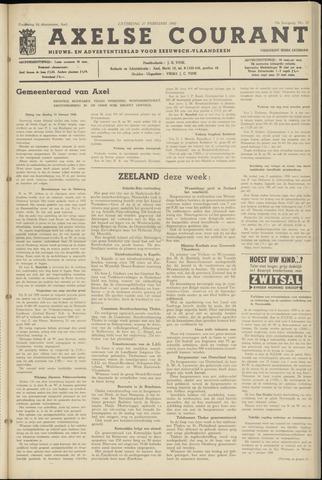 Axelsche Courant 1960-02-27
