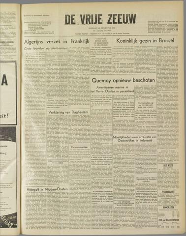 de Vrije Zeeuw 1958-08-26