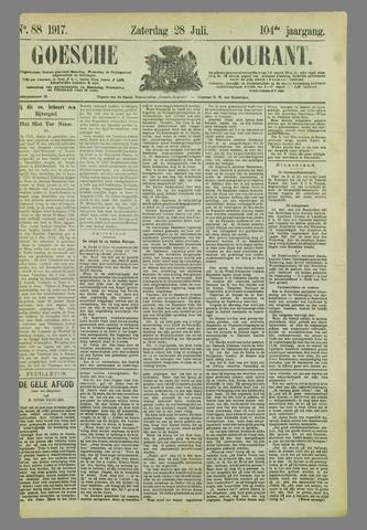 Goessche Courant 1917-07-28