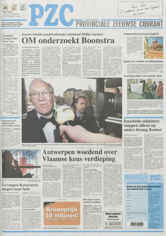 Provinciale Zeeuwse Courant 2001-04-26