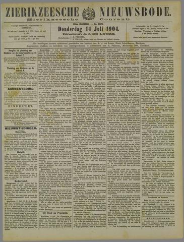 Zierikzeesche Nieuwsbode 1904-07-14