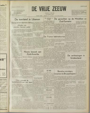 de Vrije Zeeuw 1958-05-13