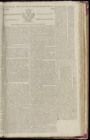 Middelburgsche Courant 1795-08-15