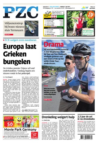 Provinciale Zeeuwse Courant 2015-07-07
