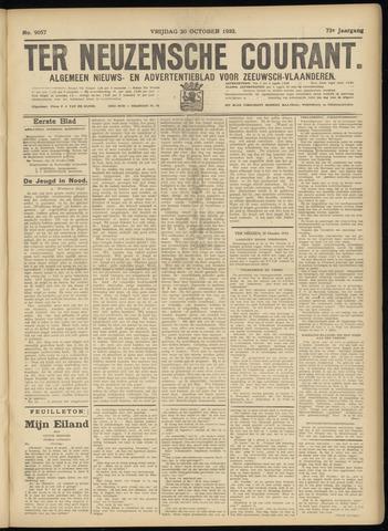 Ter Neuzensche Courant. Algemeen Nieuws- en Advertentieblad voor Zeeuwsch-Vlaanderen / Neuzensche Courant ... (idem) / (Algemeen) nieuws en advertentieblad voor Zeeuwsch-Vlaanderen 1933-10-20