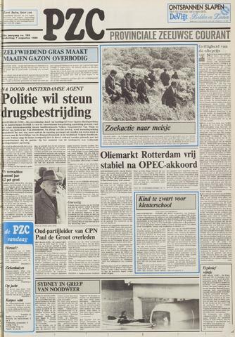 Provinciale Zeeuwse Courant 1986-08-07