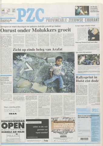 Provinciale Zeeuwse Courant 2002-04-29