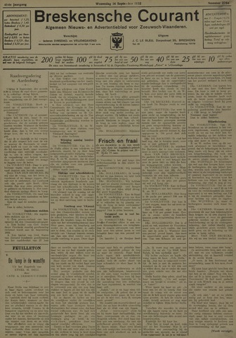 Breskensche Courant 1932-09-14