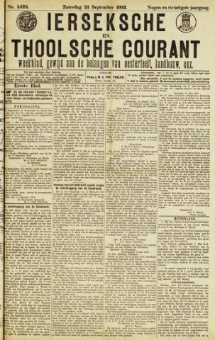 Ierseksche en Thoolsche Courant 1912-09-21