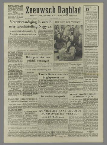 Zeeuwsch Dagblad 1958-06-18