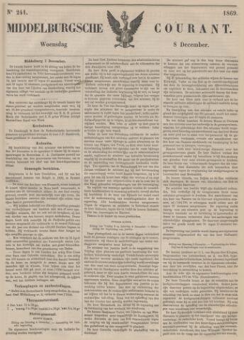 Middelburgsche Courant 1869-12-08