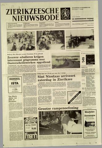 Zierikzeesche Nieuwsbode 1985-11-14