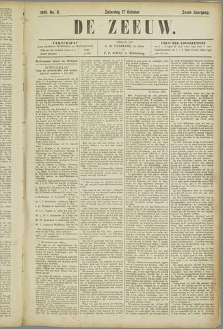 De Zeeuw. Christelijk-historisch nieuwsblad voor Zeeland 1891-10-17