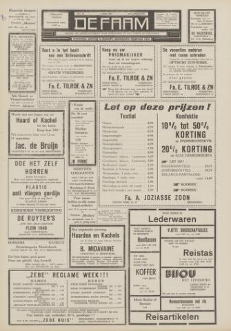 de Faam en de Faam/de Vlissinger 1963-07-05