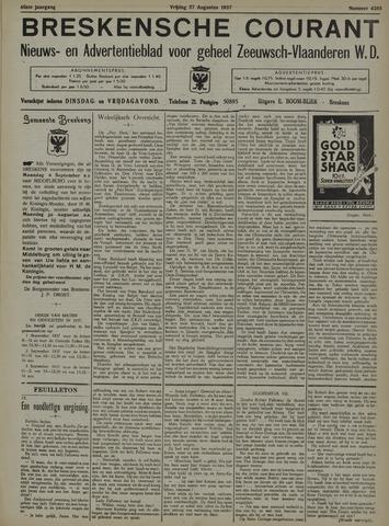 Breskensche Courant 1937-08-27