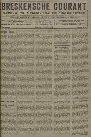 Breskensche Courant 1922-11-04