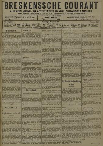Breskensche Courant 1929-08-03