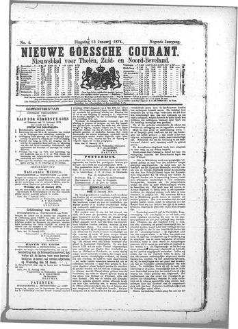 Nieuwe Goessche Courant 1874-01-13