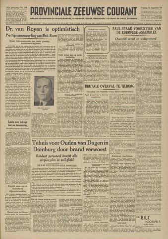 Provinciale Zeeuwse Courant 1949-08-12